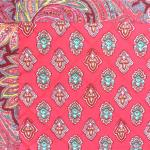 "Provencal reversible Placemat Grenadine ""Calissons"" 14x18''"
