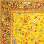 "Provencal Table Runner Yellow ""Country"" 18x40"""