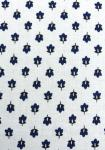"""White Provencal Lavender"", 100% mercerized printed cotton fabric"