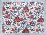 "Provencal quilted cotton Placemat Ecru ""Colombes"" 14x18"