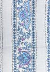 """White/Blue Country"", 100% mercerized cotton percale precut stripe 4"""