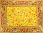 French Country Cotton Placemat Yellow 14x18' inches