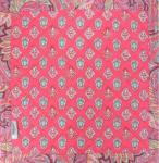 "Square Provencal Table Mat Grenadine ""Calissons"
