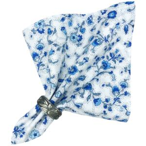 "Provencal Cotton Napkin White ""Country"