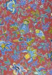 """Bric Colombes"", 100% Provencal country cotton fabric 67"""