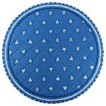 Round Provençal Quilted Mats
