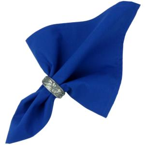 Provencal Cotton Table Napkin - Plain Blue
