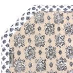 "Octogonal Reversible Quilted Cotton Placemat Beige ""Batiste"""